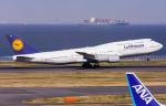 B.K JEONGさんが、羽田空港で撮影したルフトハンザドイツ航空 747-830の航空フォト(飛行機 写真・画像)