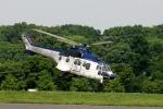 あきらっすさんが、調布飛行場で撮影した東邦航空 AS332L Super Pumaの航空フォト(写真)