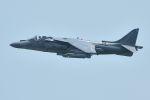 うめやしきさんが、厚木飛行場で撮影したアメリカ海兵隊 AV-8B(R) Harrier II+の航空フォト(飛行機 写真・画像)