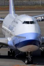 sepia2016さんが、成田国際空港で撮影したチャイナエアライン 747-409の航空フォト(写真)
