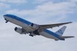 HEATHROWさんが、関西国際空港で撮影したKLMオランダ航空 777-206/ERの航空フォト(写真)