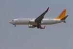 BTYUTAさんが、インディラ・ガンディー国際空港で撮影したエア・マナス 737-82Rの航空フォト(写真)