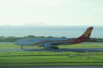 yabyanさんが、那覇空港で撮影した香港航空 A330-343Xの航空フォト(飛行機 写真・画像)