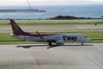 yabyanさんが、那覇空港で撮影したティーウェイ航空 737-86Nの航空フォト(飛行機 写真・画像)