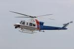 ショウさんが、名古屋飛行場で撮影したベルヘリコプター 412EPの航空フォト(写真)