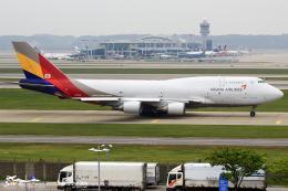 航空フォト:HL7421 アシアナ航空 747-400