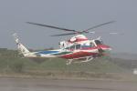 ショウさんが、鹿屋航空基地で撮影した鹿児島県防災航空隊 412EPの航空フォト(写真)