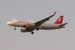 BTYUTAさんが、インディラ・ガンディー国際空港で撮影したエア・アラビア A320-214の航空フォト(写真)