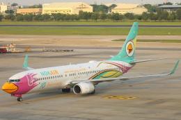 安芸あすかさんが、ドンムアン空港で撮影したノックエア 737-86Jの航空フォト(飛行機 写真・画像)