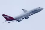 ファインディングさんが、羽田空港で撮影したカンタス航空 747-438の航空フォト(写真)