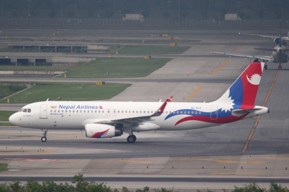 sky-spotterさんのネパール航空 Airbus A320 (9N-AKX) 航空フォト
