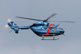 yabyanさんが、名古屋飛行場で撮影した愛知県警察 BK117C-1の航空フォト(飛行機 写真・画像)