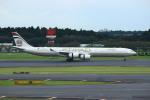 resocha747さんが、成田国際空港で撮影したエティハド航空 A340-642Xの航空フォト(写真)