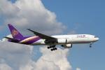 sky-spotterさんが、スワンナプーム国際空港で撮影したタイ国際航空 777-2D7の航空フォト(写真)