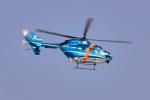 きゅうさんが、秋田空港で撮影した秋田県警察 BK117C-1の航空フォト(写真)