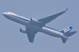 HISATAKUさんが、上海浦東国際空港で撮影した全日空 767-381/ERの航空フォト(飛行機 写真・画像)