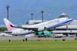 セピアさんが、松本空港で撮影したチャイナエアライン 737-8Q8の航空フォト(写真)