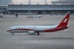 ハピネスさんが、関西国際空港で撮影した上海航空 737-8Q8の航空フォト(飛行機 写真・画像)