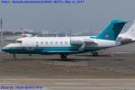 Chofu Spotter Ariaさんが、羽田空港で撮影したロンドン・エア・サービス CL-600-2B16 Challenger 605の航空フォト(飛行機 写真・画像)
