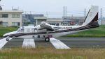 C.Hiranoさんが、八尾空港で撮影したアジア航測 695 Jetprop 980の航空フォト(写真)