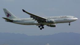 cathay451さんが、関西国際空港で撮影したカタール航空 A330-202の航空フォト(飛行機 写真・画像)