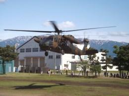 倉島さんが、新発田駐屯地で撮影した陸上自衛隊 UH-60JAの航空フォト(飛行機 写真・画像)