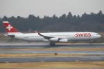 セブンさんが、成田国際空港で撮影したスイスインターナショナルエアラインズ A340-313Xの航空フォト(飛行機 写真・画像)