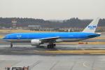 セブンさんが、成田国際空港で撮影したKLMオランダ航空 777-206/ERの航空フォト(飛行機 写真・画像)
