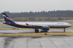 セブンさんが、成田国際空港で撮影したアエロフロート・ロシア航空 A330-343Xの航空フォト(飛行機 写真・画像)