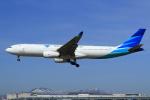 セブンさんが、新千歳空港で撮影したガルーダ・インドネシア航空 A330-343Xの航空フォト(飛行機 写真・画像)