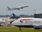 flytaka78さんが、ロンドン・ヒースロー空港で撮影した全日空 777-381/ERの航空フォト(写真)