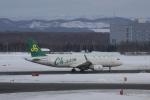 しかばねさんが、新千歳空港で撮影した春秋航空 A320-214の航空フォト(写真)