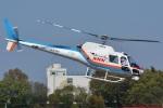 (`・ω・´)さんが、調布飛行場で撮影した東邦航空 AS350B Ecureuilの航空フォト(写真)