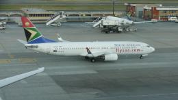 レックスさんが、O・R・タンボ国際空港で撮影した南アフリカ航空 737-85Fの航空フォト(飛行機 写真・画像)