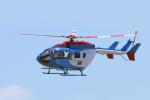 yabyanさんが、名古屋飛行場で撮影した中日新聞社 BK117C-2の航空フォト(飛行機 写真・画像)
