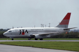 kumagorouさんが、宮古空港で撮影した日本トランスオーシャン航空 737-2Q3/Advの航空フォト(飛行機 写真・画像)
