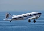 じーく。さんが、神戸空港で撮影したスーパーコンステレーション飛行協会 DC-3Aの航空フォト(飛行機 写真・画像)