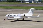 yabyanさんが、名古屋飛行場で撮影したNORTH HOLDINGS LLC G-IV-X Gulfstream G450の航空フォト(飛行機 写真・画像)