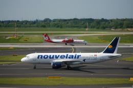 みっちゃんさんが、デュッセルドルフ国際空港で撮影したヌーべルエア・チュニジア A320-214の航空フォト(飛行機 写真・画像)