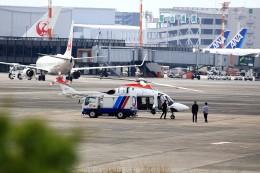 T.Sazenさんが、伊丹空港で撮影した朝日新聞社 AW169の航空フォト(写真)