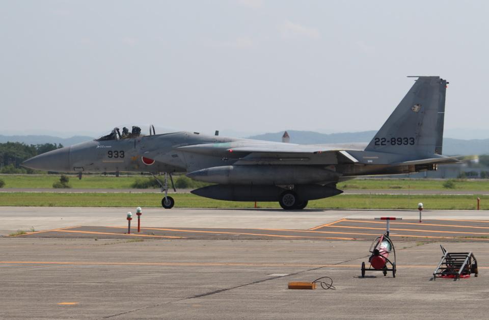 セブンさんの航空自衛隊 Mitsubishi F-15J Eagle (22-8933) 航空フォト