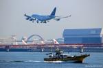 SKY☆8959さんが、羽田空港で撮影したタイ国際航空 747-4D7の航空フォト(写真)