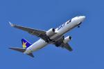 パンダさんが、羽田空港で撮影したスカイマーク 737-8FZの航空フォト(写真)