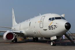 ygfdcxzさんが、鹿屋航空基地で撮影したアメリカ海軍 P-8A (737-8FV)の航空フォト(飛行機 写真・画像)