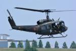 storyさんが、利根川水系連合・総合水防演習(加須市)で撮影した陸上自衛隊 UH-1Jの航空フォト(写真)
