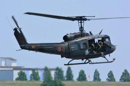 storyさんが、利根川水系連合・総合水防演習(加須市)で撮影した陸上自衛隊 UH-1Jの航空フォト(飛行機 写真・画像)