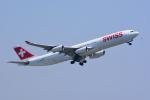 chinbariさんが、成田国際空港で撮影したスイスインターナショナルエアラインズ A340-313Xの航空フォト(写真)