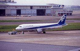けいとパパさんが、羽田空港で撮影した全日空 A320-211の航空フォト(飛行機 写真・画像)