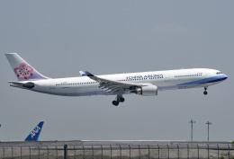 tsubasa0624さんが、羽田空港で撮影したチャイナエアライン A330-302の航空フォト(飛行機 写真・画像)
