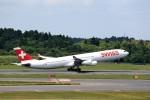 T.Sazenさんが、成田国際空港で撮影したスイスインターナショナルエアラインズ A340-313Xの航空フォト(飛行機 写真・画像)